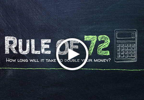 How Long Will It Take to Double Your Money? The Rule of 72