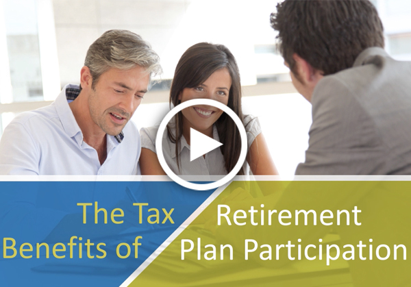 The Tax Benefits of Retirement Plan Participation